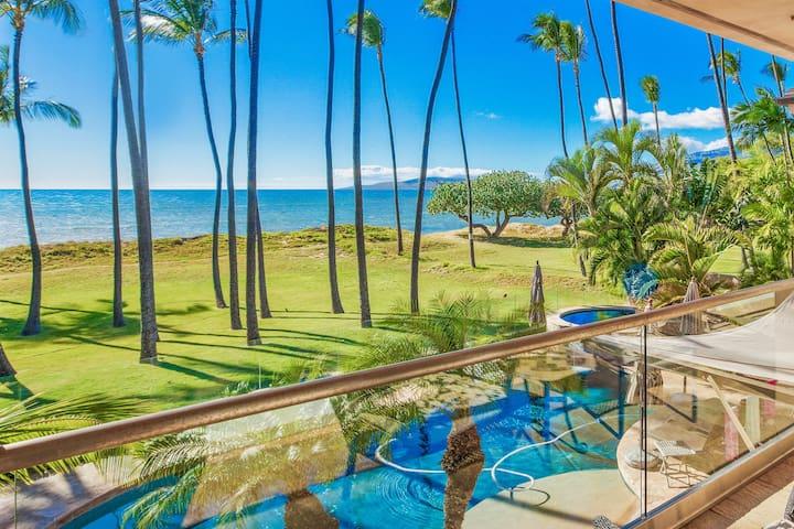 Beachfront South Maui Estate