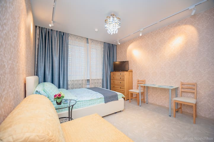 Beautiful Studio Near Crocus City Hall - Krasnogorsk - Leilighet