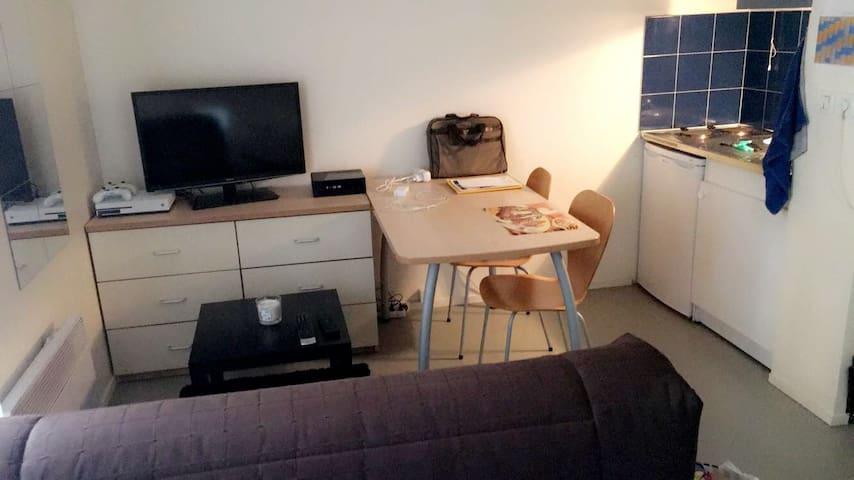 Beau studio au coeur de Paris 13ème (BNF)