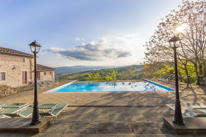 Private pool, view, activities,wifi - Sansepolcro - 別荘