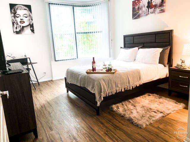 Cozy Room Private Marina Rey-Santa Monica -Venice