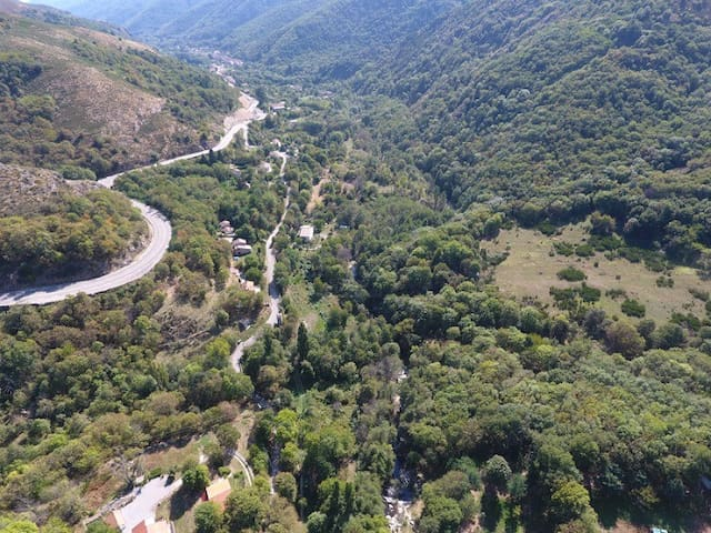 La haute vallée de l'Ardèche