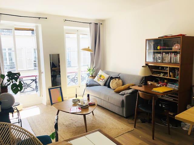 Studio Cosy et lumineux