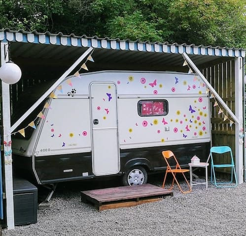 The Vintage Caravan @ Boyne Valley Glamping