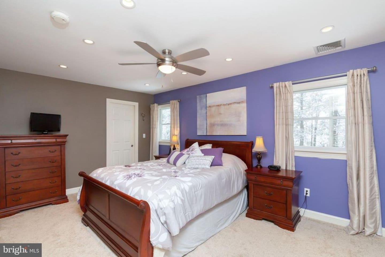 Master bedroom on 2nd floor