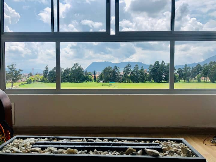 Disfruta tu estadía con gran vista a Zipaquirá