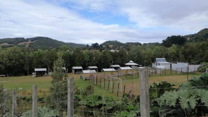 Camping y sendero Aucar