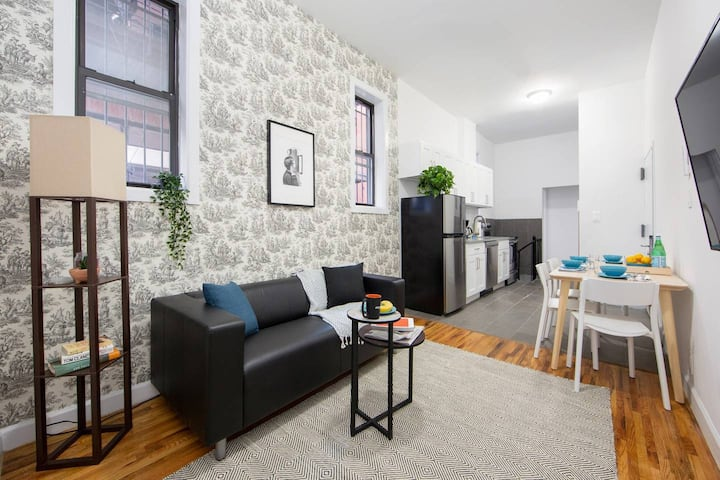 Modern 3 BR apt in Fort Greene Cumberland