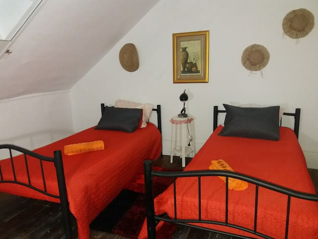 6Room Red (direct line to airport).