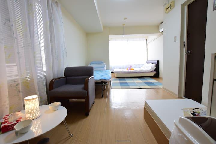 #19 Shinsabashi shopping area 1min to walk - Ōsaka - Lägenhet