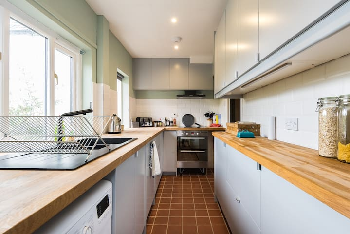 Kitchen, with all mod-cons.