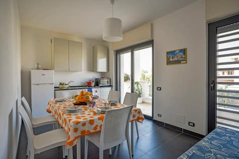 Apartment in Monopoli with seaview terrace