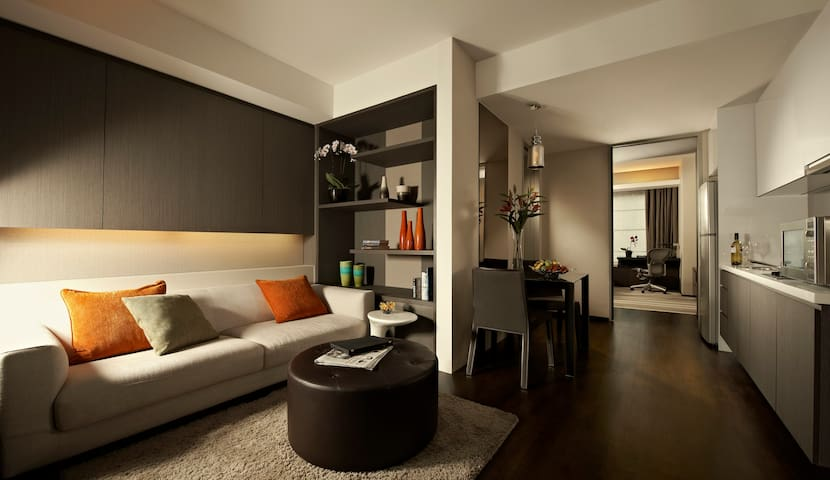 1BR Deluxe - Pan Pacific Serviced Suites Orchard