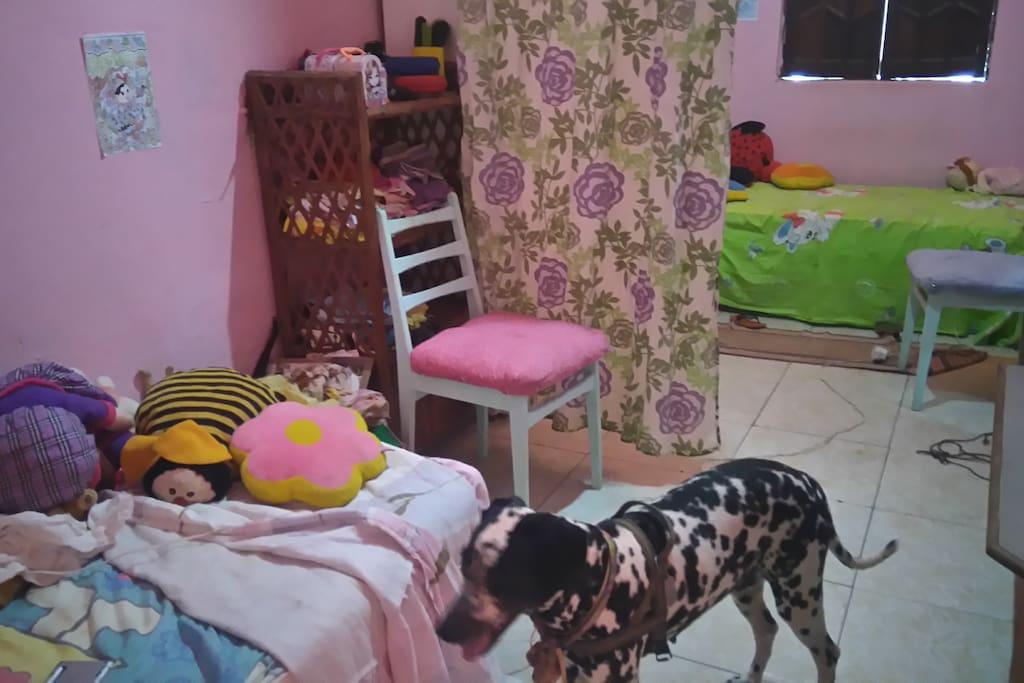 Bedroom for share (2 per.) Quarto p/ compartilhar