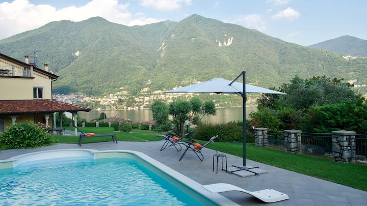 Lake view Villa - Laglio sleeps 15