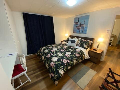 No 2 Appartement sécuritaire et confortable