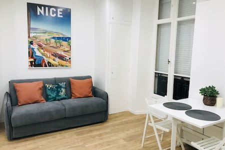 TOTALLY NEW STUDIO IN THE HEART OF NICE