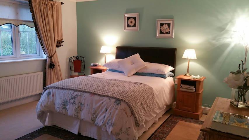 Sumptuous, Bright South Facing Room with En-Suite - Wokingham - House