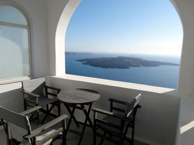 Private Studio Yposkafo - Santorini Firostefani - Thera - บ้าน