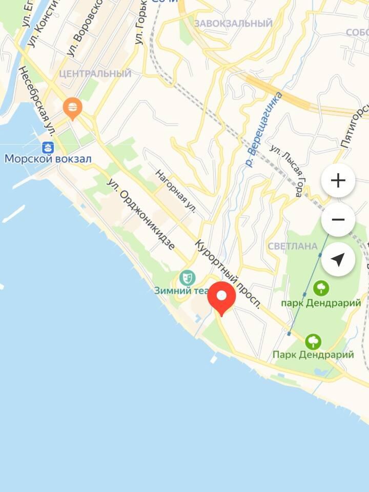 Хотите апартаменты в центре Сочи, около моря ?!