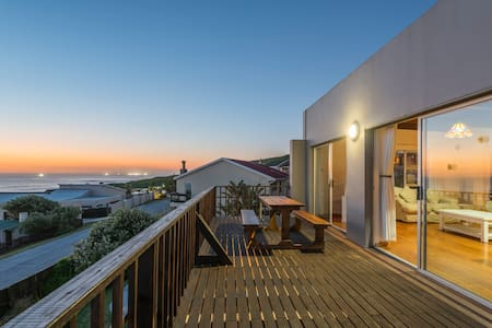 Elizabeth House ~ seaside holiday home with pool