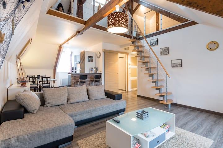 Appartement Duplex marin