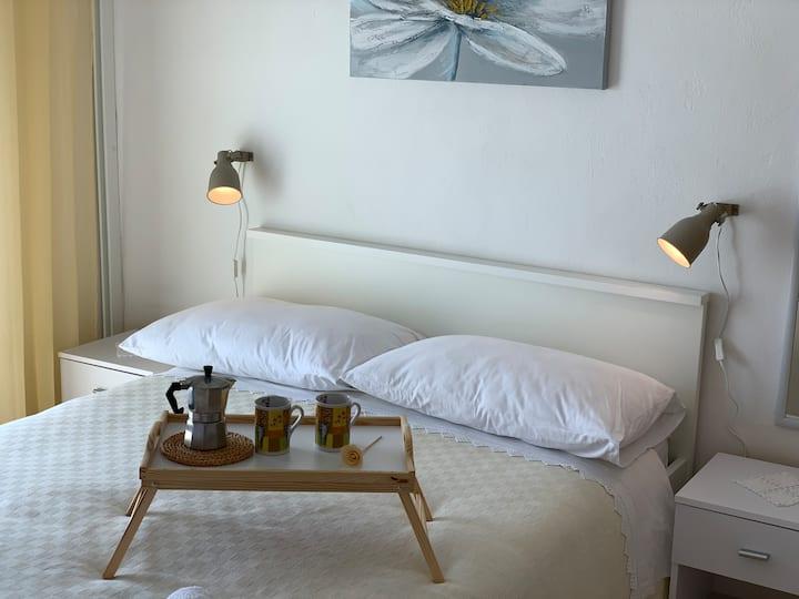 Warm and cozy studio apartment