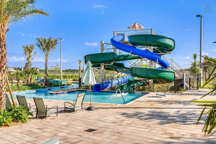 Water slides for a great time!