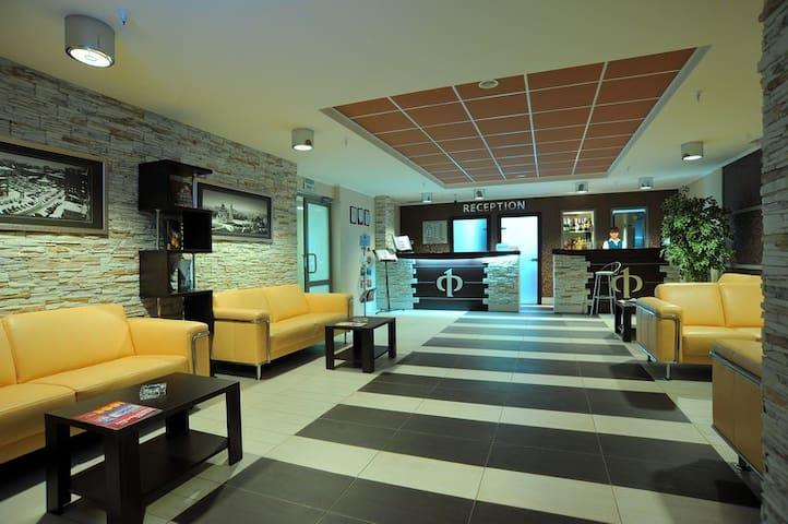 Отель «Флагман» в центре г. Омска - Omsk - Boutique-hôtel