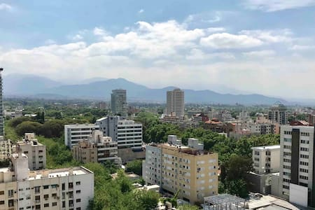 15th Floor Studio in Downtown Mendoza. Great View!