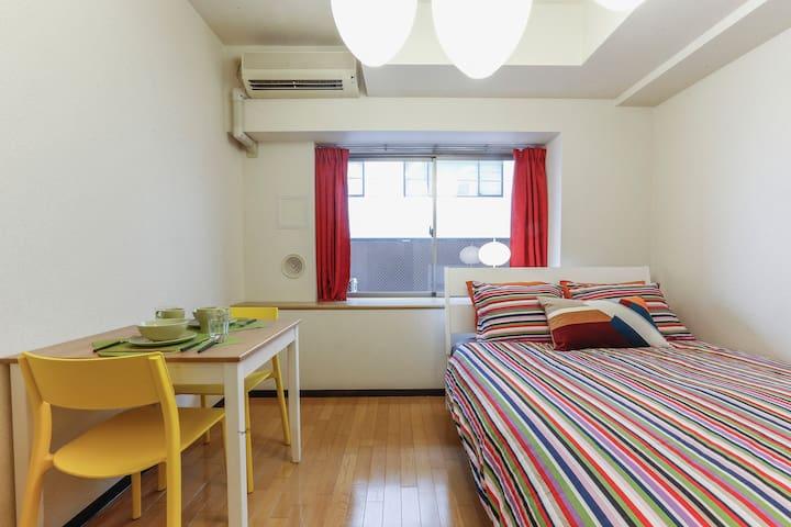 1min from STA.! Perfect place Tokyo !! - Chūō-ku - Appartement