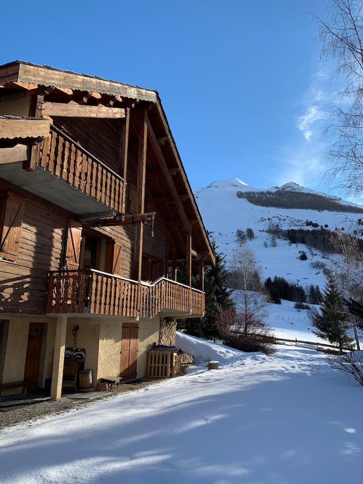 Grand Chalet au pied des pistes des Deux Alpes