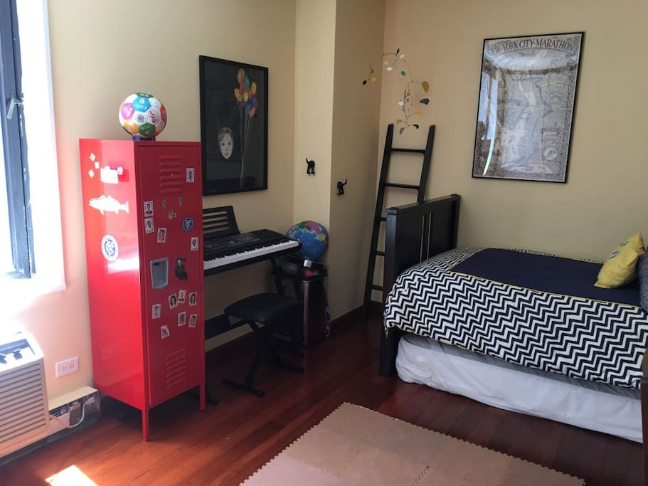 Second twin mattress available