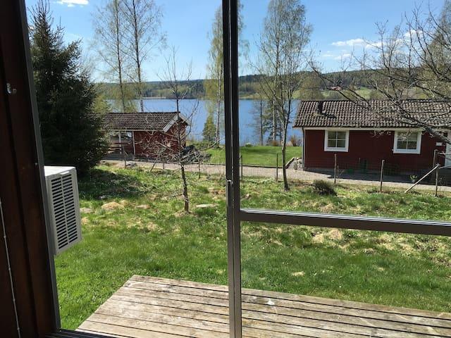 Fantastiskt läge vid Fåsjön