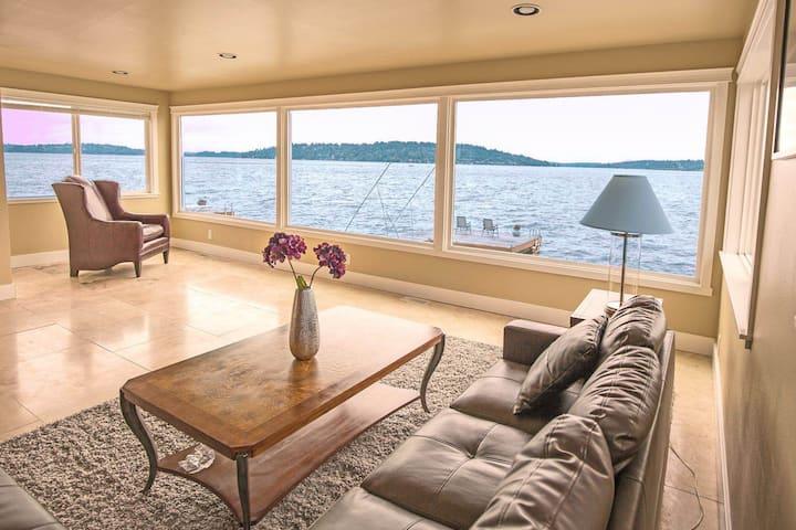 Lake Washington Waterfront House-Unit 1