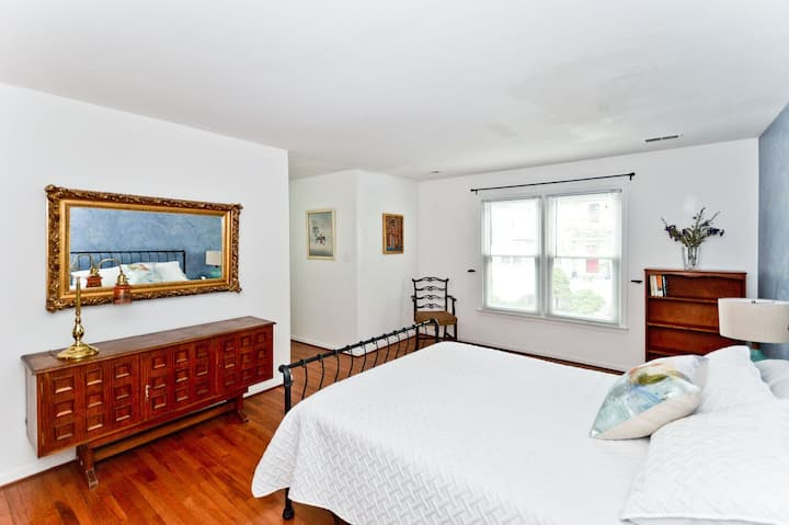 Large Master Bedroom with Private Bathroom