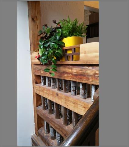 Treppenaufgang/Vorraum