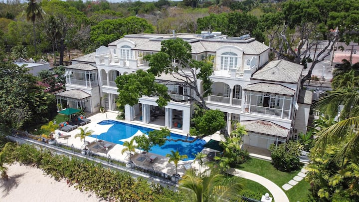 Villa Kiko in Saint James by Personal Villas - Gorgeous Oversized Swimming Pool and Gym