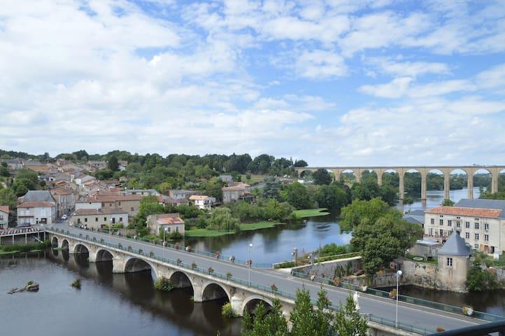 The delightful village of L'Isle Jourdain