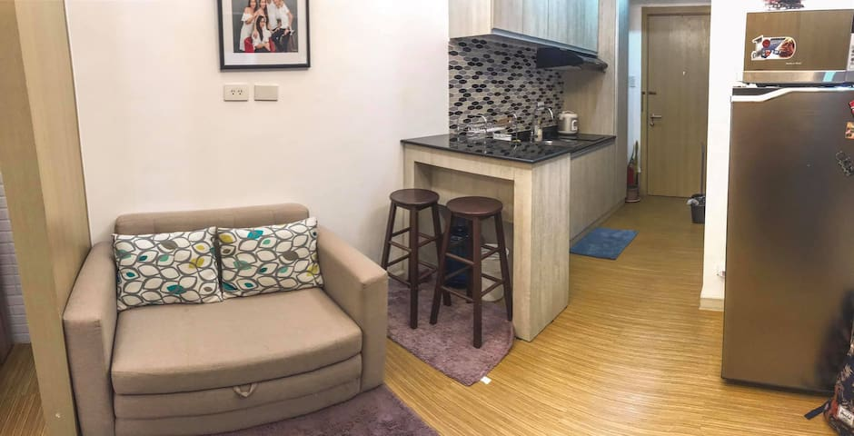 Fully Furnished One Bedroom Condo Unit in Taguig
