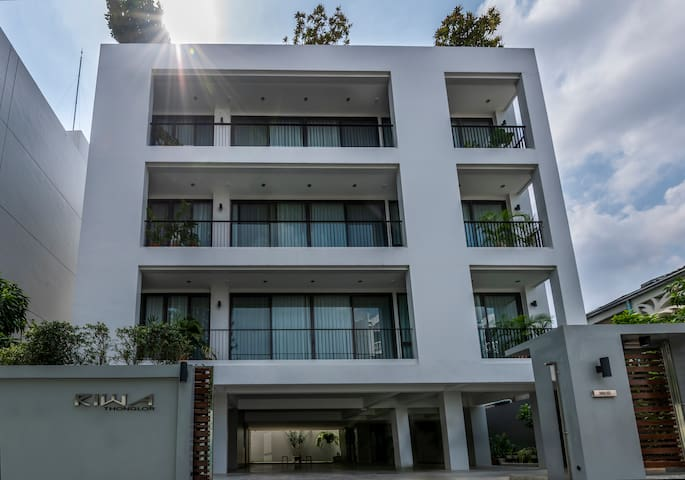 Entire Luxury House with Roof-Top Pool in Thonglor
