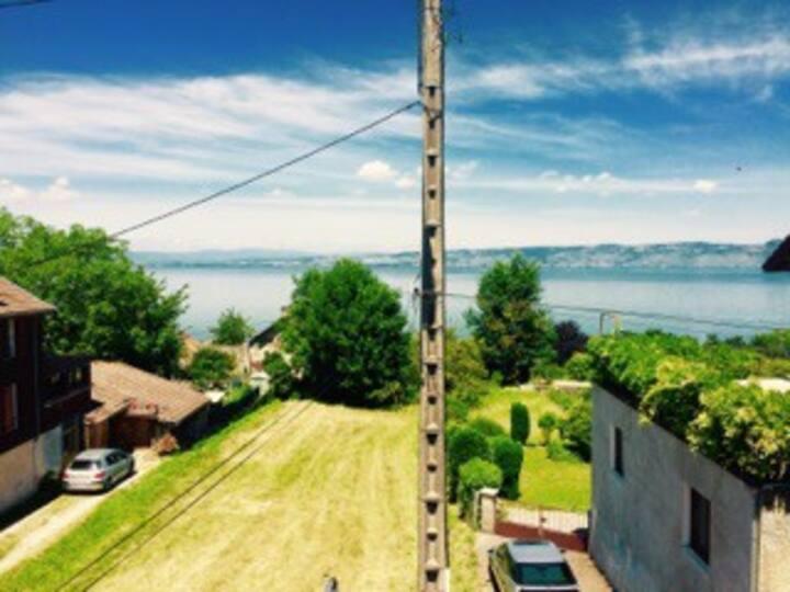 Location f2 à lugrin proche lac leman