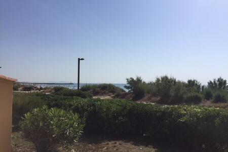 Appartement donnant sur la plage