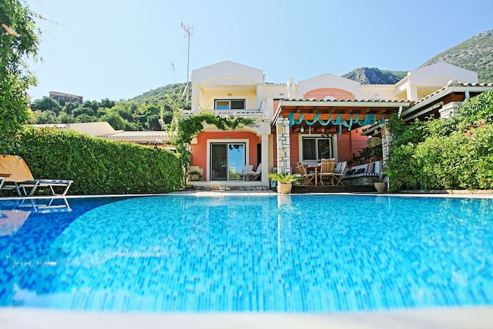Beach Villa Blue - Seaside Villa Rental on Corfu Island, Greece