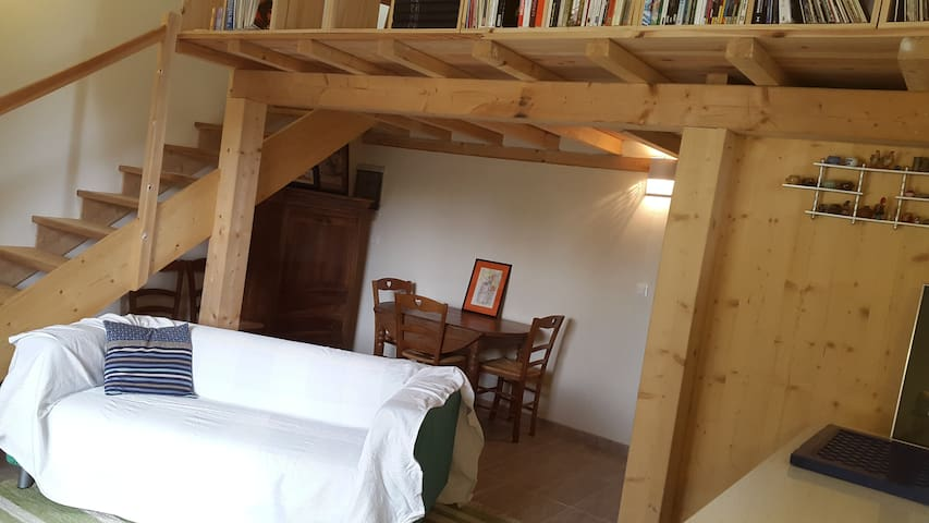 Studio d'amoureux à la campagne - Preignan - Appartement