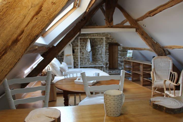 Studio meublé en Suisse Normande