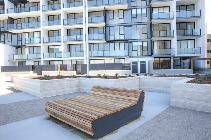 BRAND NEW Beachfront Apartment w/ Private Balcony!