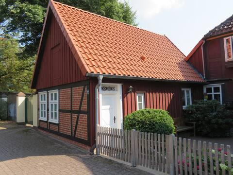 small guest apartment near the center in the half-timbered house
