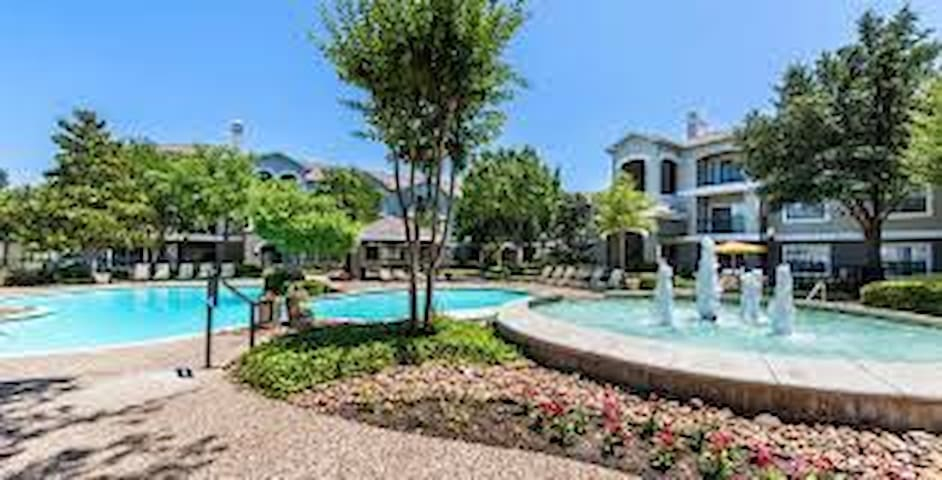 Beautiful apartment near DFW +all amenities!