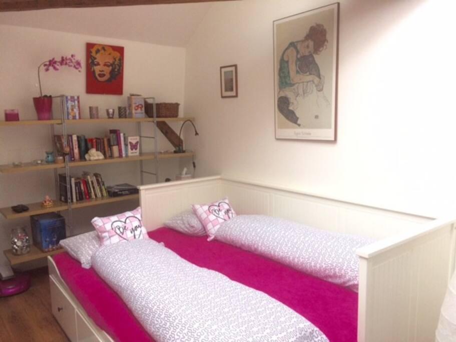 Hemnes bed 160cm